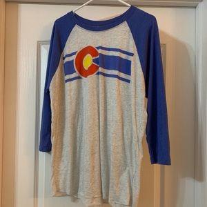 Colorado 3/4 sleeve shirt